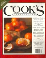 Cooks Illustrated, December 2008 Issue